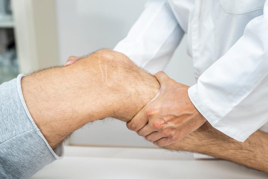 Behandlung Knie