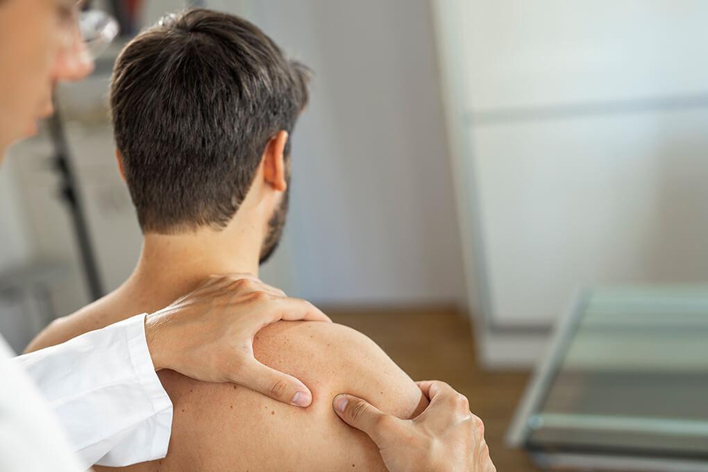 Behandlung Schulter
